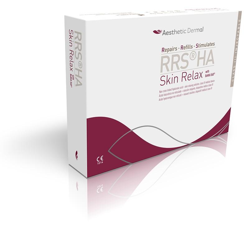 Pudełko z preparatem medycznym RRSHA Skin Relax