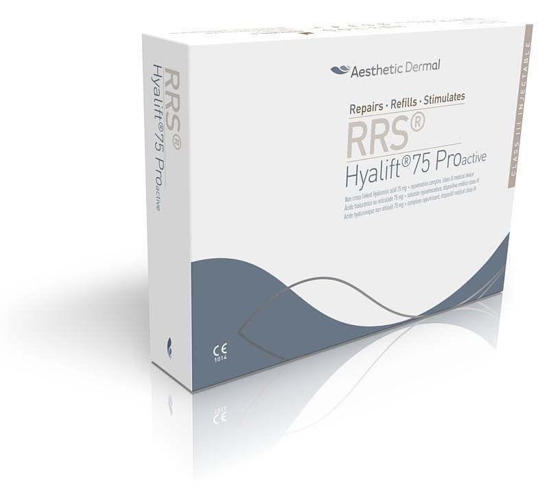 Pudełko z preparatem medycznym RRSHA Hyalift 75 Pro