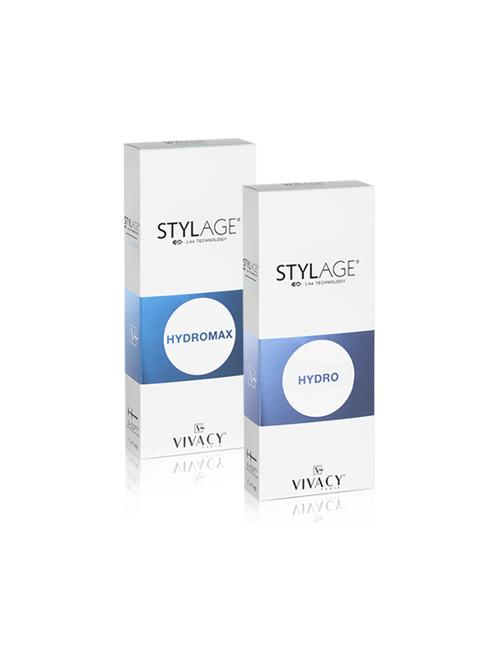 Opakowania z preparatem medycznym StylAge Hydro